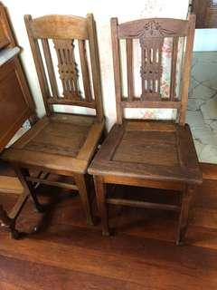 Peranakan/ colonial chair
