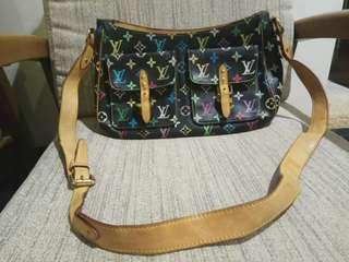Ukay2x LV small black Multicoloured cross body bag