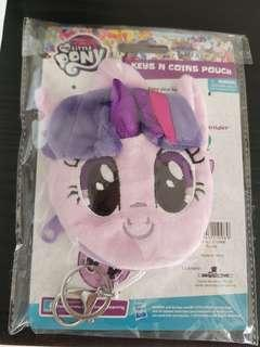 My Little Pony key and coin pouch