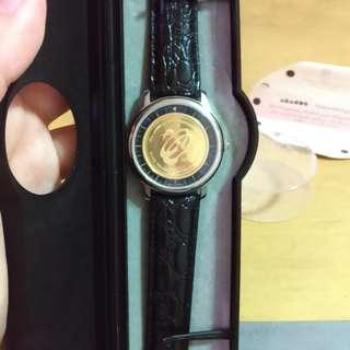 Abacus Wrist Watch by Roy Schafer and Erich Lacher Watch Factory