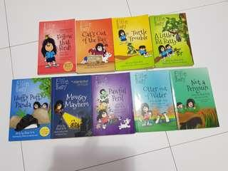 Ellie Belly books (1 to 9)
