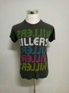 THE KILLERS band t-shirt