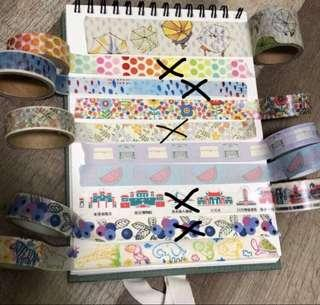 Washi Tape/ MT Tapes