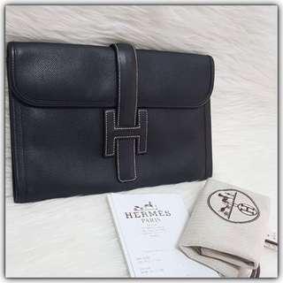 Hermes Jige PM Black Epsom (29x20cm) #L #hermesjige#hermesjigepm#hermesbag#authentic#authenticbag#instalike