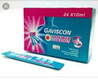 Gaviscon double action (ori $46.8)