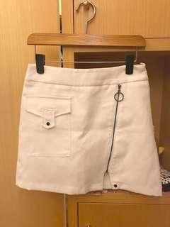 🚚 So nice白色褲裙裙長40公分