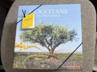Loccitanne Verbena Shower gel and Body lotion gift set