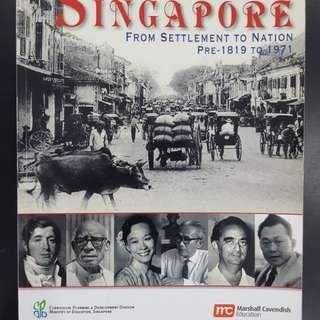 Singapore From Settlement to Nation Pre-1819 to 1971