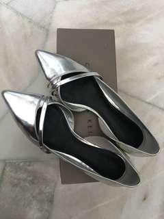 Charles & Keith silver