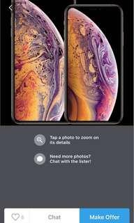 Recontracting my phone line - iphone XS/ iphone XS max