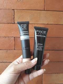 Face Recipe Tint Moisturizer and Primer package