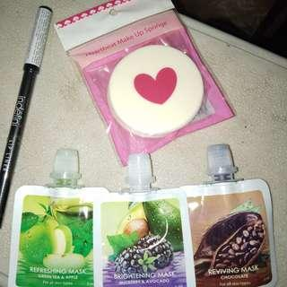 Masker dan lipliner Take All