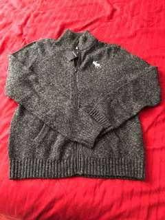 BNWT Abercrombie & Fitch thick wool jacket