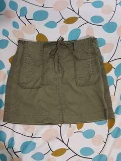 J.Crew Army Green Skirt