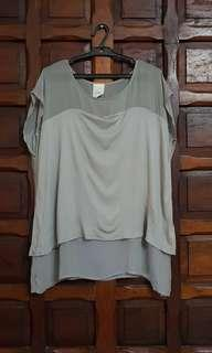 Zara Gray Shirt