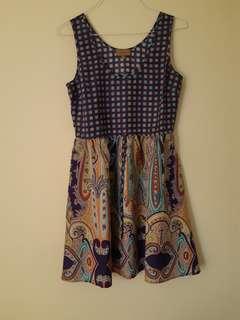 Kachel 100% silk dress, 12