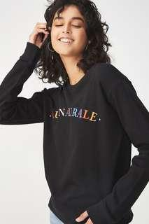 New arrival black sweater