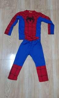 Spiderman costume 1 to 2 yrs old