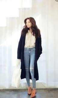 FLASH SALE $20 PREMIUM Brand new navy blue knitted Long cardigan