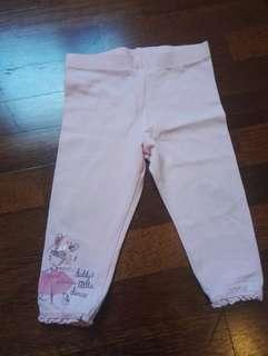Mother care girl pink legging