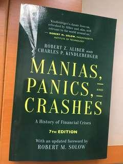 Manias, Panics, and Crashes  A History of Financial Crises, Seventh Edition