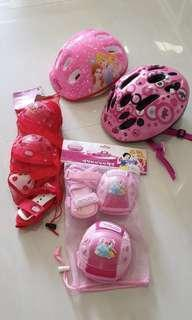 Kids Bicycle Scooter Protection Gear 2 sets