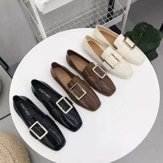 [FREE DELIVERY] Korean Loafers Shoe
