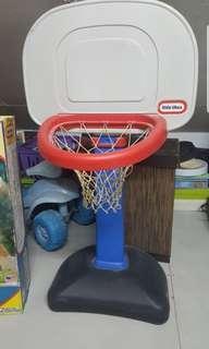 Little tikes.easyscore adjustable basketball set