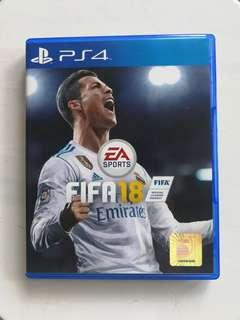 PS4 FIFA 2018 ( Free postage to West Malaysia )