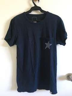 Visvim Shirt with star pocket detail