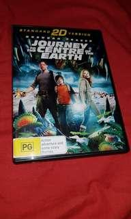 Journey to the centre of the earth DVD