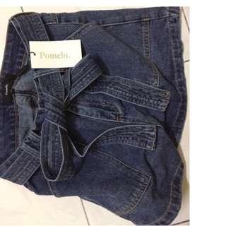 Pomelo denim shorts #MY1212