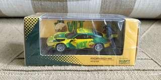 VLT 保時捷911 GT3R 1/64 香港 澳門格蘭披治活動 維他檸檬茶 not tarmac tomytec tomica Tiny 微影 hotwheels