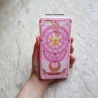 INSTOCK Pink Saruka Cardcaptor Oppo R15 casing