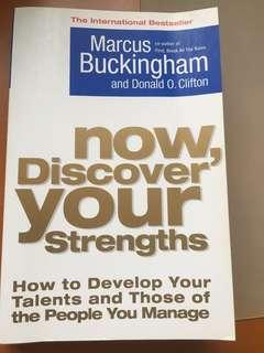 Now, Discover Your Strengths by Marcus Buckingham and Donald O. Clifton