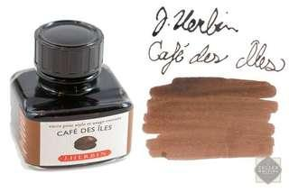 J. Herbin Bottled Ink Cafe Des Iles