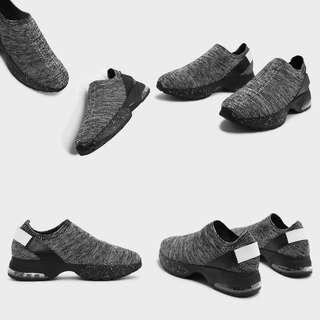 Charles & Keith Knitted Socks Sneakers (Grey) 38