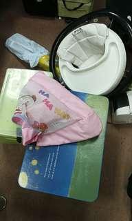 BB 讀書檯一張膠一張可摺, 防跃網, bb學行車