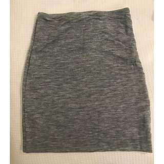 Kookai Grey Mini Skirt