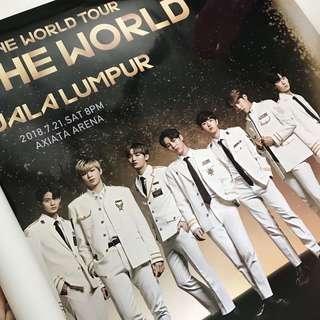 Wanna One Concert Poster