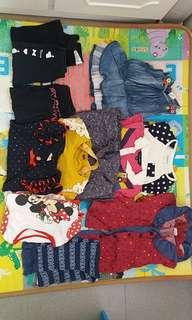 Cloths for 3-4y