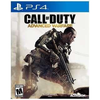 PS4 Games Call Of Duty Advanced Warfare