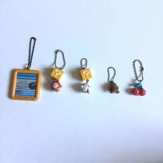 PLOVED: Super Mario Keychain Bundle