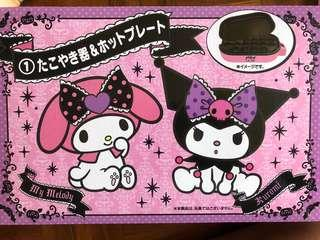 My melody and Kuromi Sanrio 章魚小丸子機
