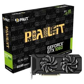 Palit GeForce GTX 1060 Dual 6144MB GDDR5 PCI-Express Graphics Card