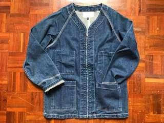 4 pocket Indigo denim jacket 藍染牛仔外套