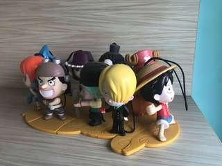 Mac One Piece Figurines (total 9)