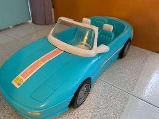 絕版正版Barbie跑車