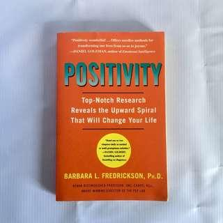 Positivity by Barbara Fredrickson