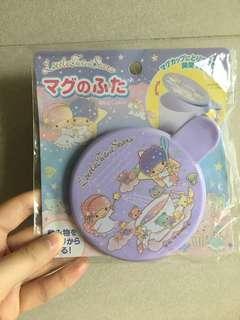 全新!Little Twin Stars purple mug cover